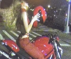blonde, Hot, and motorbike image