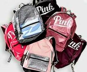 backpacks, vspink, and pinkbackpacks image