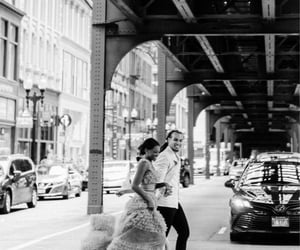 black and white, couples, and relationships image