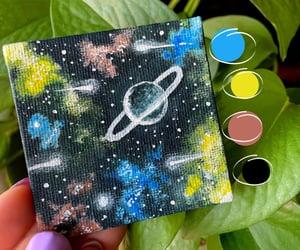 art, miniature, and shooting stars image