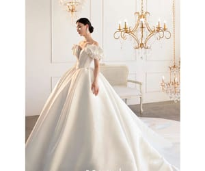ball gown, off-the-shoulder, and high-end image