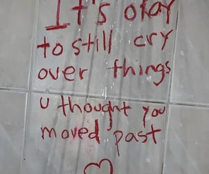 cry, feeling, and love image