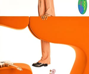 orange, steve lacy, and apollo xxi image