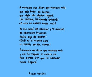 amor, azul, and pain image