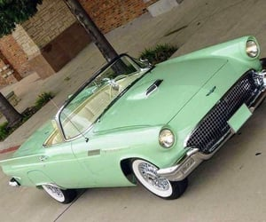 1950s, mint, and musclecars image
