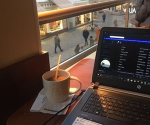 coffee, starbucks, and study image