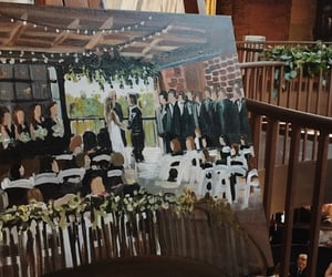 aesthetic, bridal, and paint image
