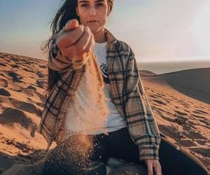 desert, girl, and instagram image