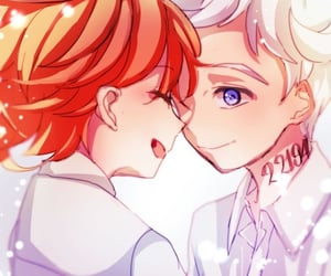 kawaii, the promised neverland, and anime image