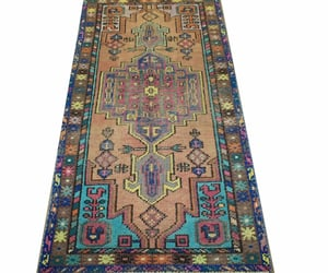 home decor, vintage rugs, and wool area rug image