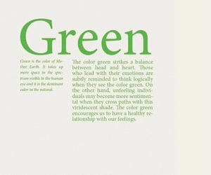 color, green, and quotes image