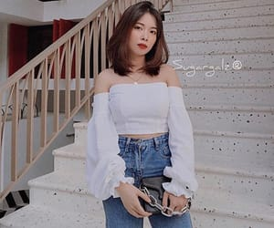 blouse, blusa campesina, and off shoulders blouse image