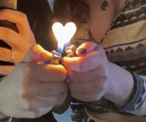 heart and lighter image