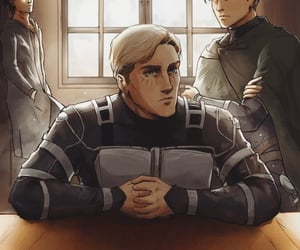 anime, captain, and levi image