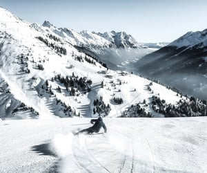 Alps, hills, and january image
