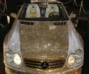 bling, vehicles, and mercedes-benz image