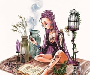 tarot and witch image