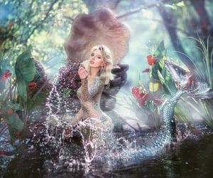 art, beautiful, and blonde image
