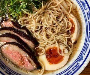 egg, japanese food, and ramen image