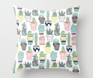 cacti, cactus throw pillows, and cactus image