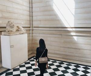 louvre, paris, and museum image