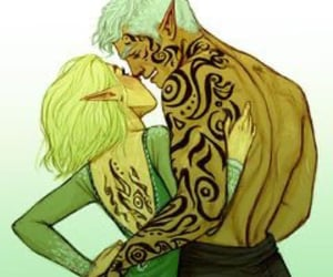 fae, throne of glass, and faerie image
