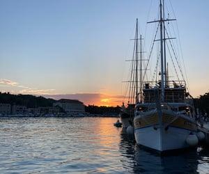 beautiful places, Croatia, and skies image