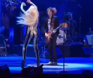 charlie watts, the rolling stones, and Lady gaga image