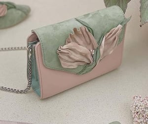 bag, mint, and pink image