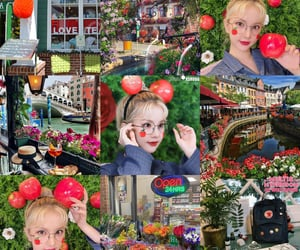 apple, colorful, and Moodboards image