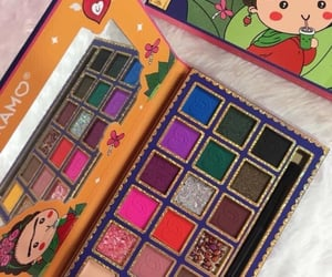 colorfull, makeup, and eye shadow palette image