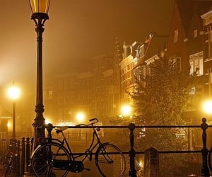 bike and night image
