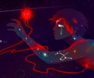 Chiara Bautista, constellations, and fan art image