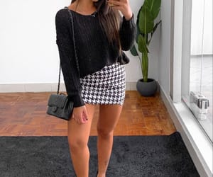 black and white, fashion, and look image