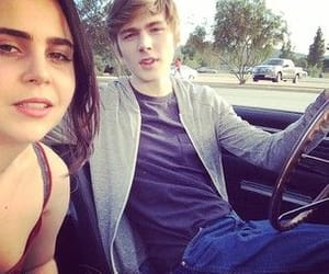 13 reasons why, mae whitman, and miles heizer image