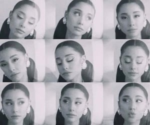 ariana grande, rem beauty, and positions image