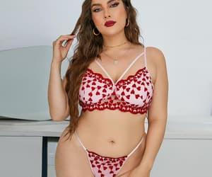 article, plus size bras, and plus size lingerie image