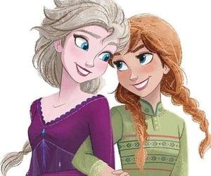 disney, Queen, and princess anna image