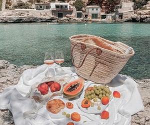 food, fruit, and mallorca image