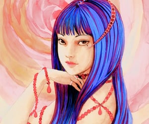 anime, japanese art, and ito junji image