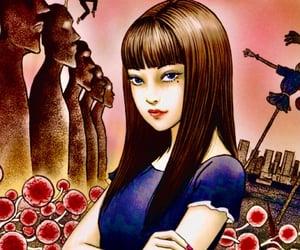 art, illustration, and tomie kawakami image