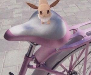 aesthetic, bike, and pokemon image