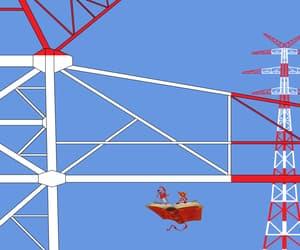cartoon, deutschland, and lattice climbing image