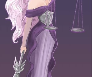 aerial, justice, and Libra image