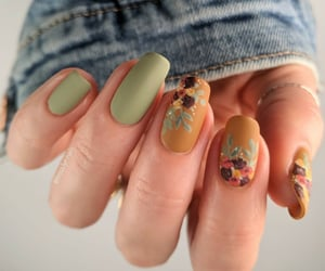 design, nail art, and manicure image