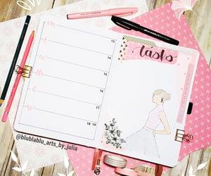 agenda, planner, and scrap image