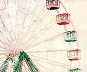 carnival, ferris wheel, and fun image