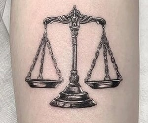 airy, Libra, and tattoo image