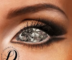 art, business, and lashes image