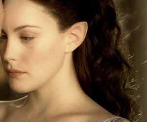 brown hair, liv tyler, and lord of the rings image